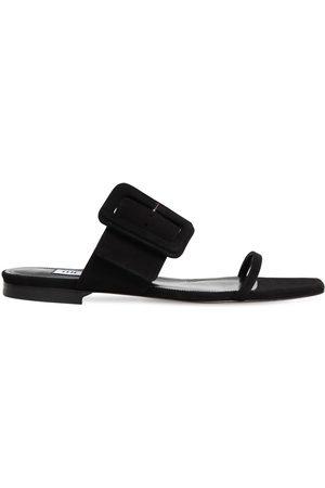 The Attico 10mm Suede Sandals