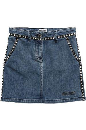Moschino Meisjes Jeansrokken - Stretch Cotton Jeans