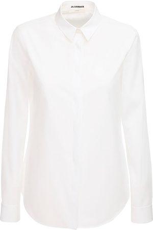 Jil Sander Monday Cotton Poplin Shirt