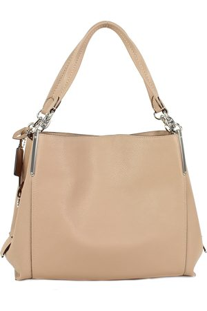 Coach Dalton 31 Shoulder Bag Taupe Tassen schoudertassen