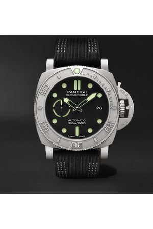 PANERAI Heren Petten - Submersible Mike Horn Edition Automatic 47mm Eco-Titanium and PET Watch
