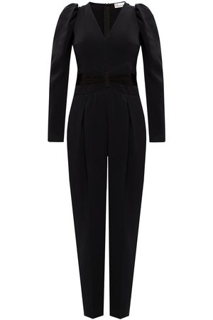 RED Valentino V-neck jumpsuit