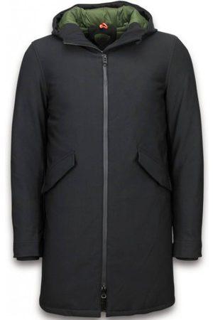 Warren Webber Heren Parka's - Lange jas met capuchon jassen parka