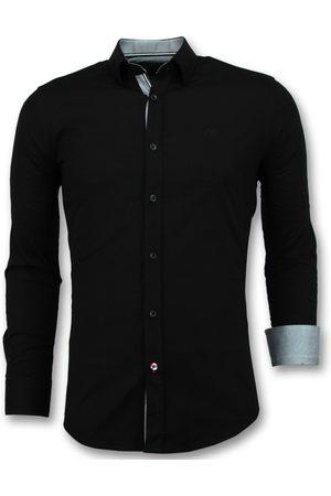TONY BACKER Heren Overhemden - E slim fit overhemden