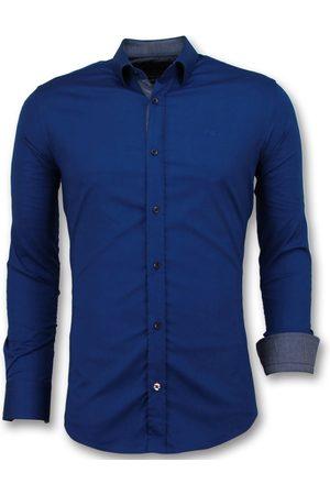 TONY BACKER Heren Overhemden - Getailleerde overhemden