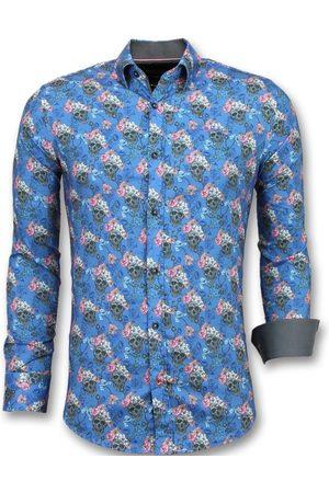 TONY BACKER Heren Overhemden - E overhemden bloemen