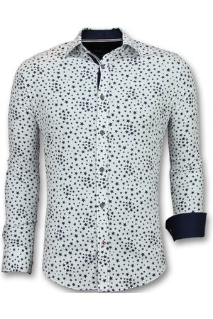 TONY BACKER Heren Overhemden - Overhemden regular fit bloemen