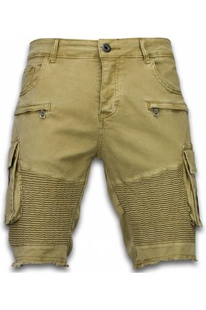 Enos Dames Shorts - Korte broek slim fit biker pocket jeans