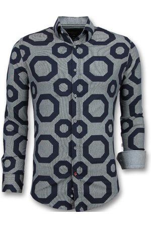 TONY BACKER Heren Overhemden - Business overhemden slim fit