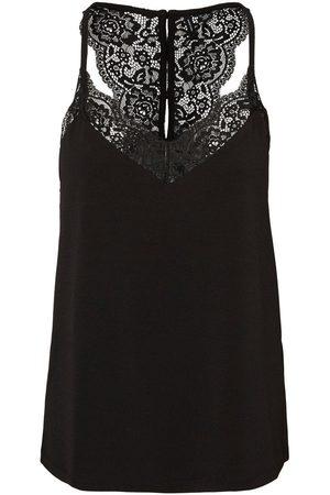 Vero Moda Lace Top Dames Zwart