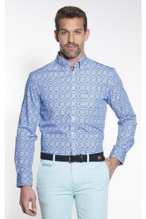 Campbell Heren Overhemden - Casual overhemd met lange mouwen