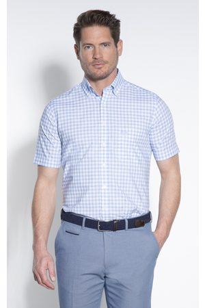 Donkervoort Heren Overhemden - Casual overhemd met korte mouwen licht