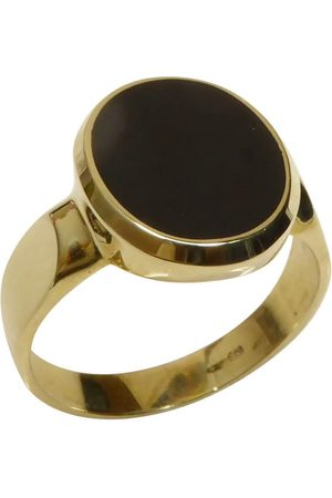 Christian Heren Ringen - Cachet ring met lagensteen