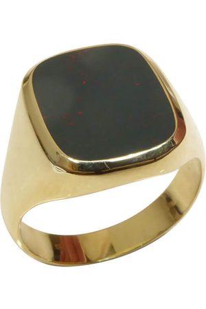 Christian Heren Ringen - Gouden zegelring met heliotroop