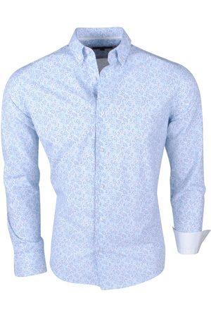 Brentford and Son Heren Overhemden - Jan paulsen heren design overhemd regular fit licht