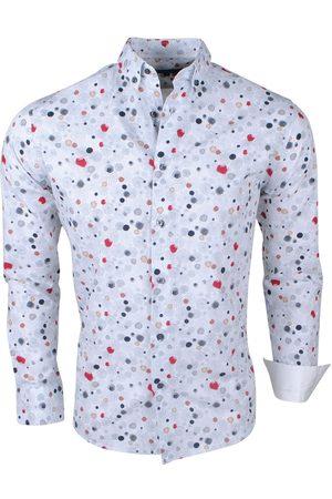 Brentford and Son Heren Overhemden - Jan paulsen heren design overhemd regular fit