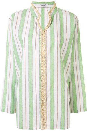 Bambah Striped V-neck shirt