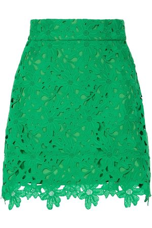 Bambah Kelly lace mini skirt