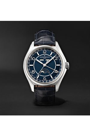 Vacheron Constantin Fiftysix Automatic Complete Calendar 40mm Stainless Steel and Alligator Watch, Ref. No. 4000E/000A-B548