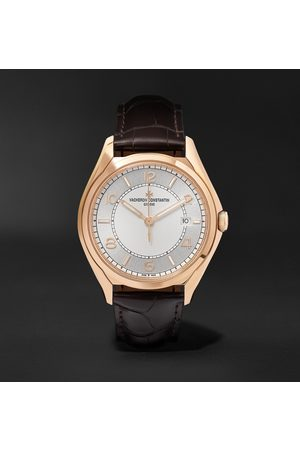 Vacheron Constantin Fiftysix Automatic 40mm 18-Karat Pink Gold and Alligator Watch, Ref. No. 4600E/000R-B441 X46R2019