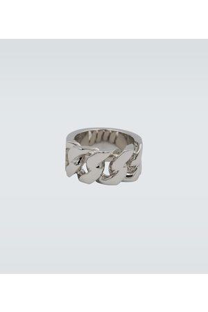 Alexander McQueen Metal chain ring