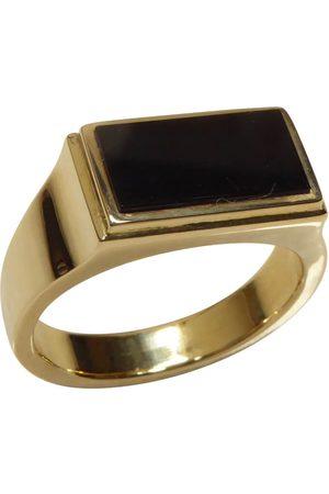 Christian Heren Ringen - Gouden onyx cachet ring