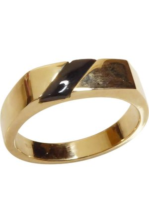 Christian Gouden onyx zegelring