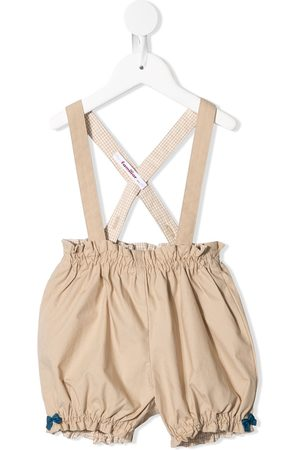 Familiar Criss-cross straps dungarees