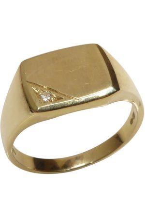 Christian Gouden heren ring cachet model
