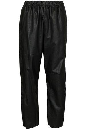 MM6 MAISON MARGIELA Faux leather track pants