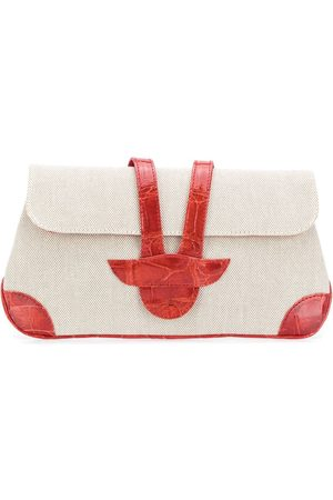 A.N.G.E.L.O. Vintage Cult 2000s contrast panel clutch bag