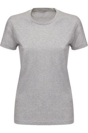 Moncler Dames T-shirts - Oversized Cotton Jersey T-shirt