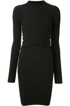 DION LEE Twist-style cutout mini dress