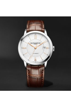 Baume & Mercier Classima Automatic 40mm Stainless Steel and Alligator Watch, Ref. No. M0A10263