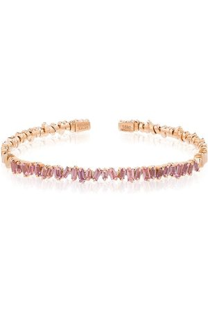 Suzanne Kalan 18kt gold Firework sapphire bracelet