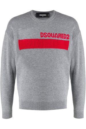 Dsquared2 Contrasting-panel logo jumper