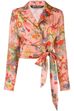 Palm Angels Blooming knot shirt