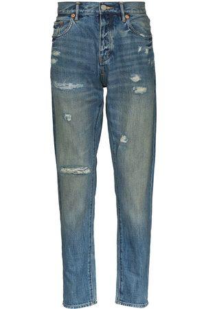 Purple Brand Vintage distressed straight leg jeans