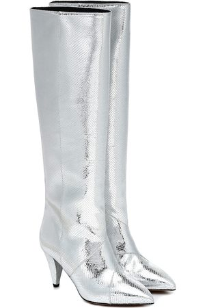 Isabel Marant Laomi leather knee-high boots