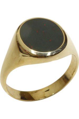 Christian Heren Ringen - Gouden heliotroop zegelring