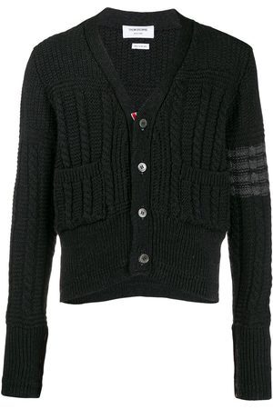 Thom Browne Aran knit cardigan