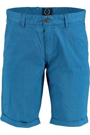 Bos Bright Blue Heren Shorts - Barry chino short 20109ba01sb/240 blue