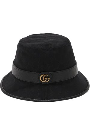 Gucci Heren Buckethat - Gg Cotton Canvas Bucket Hat