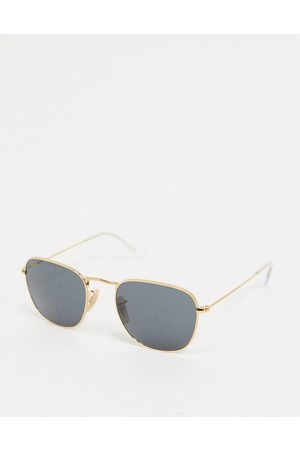 Ray-Ban Metal round sunglasses in gold ORB3857