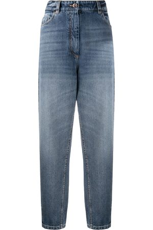 Brunello Cucinelli High rise mom-fit jeans