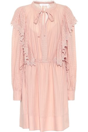 Chloé Cotton-voile minidress