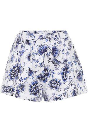 ALEXANDRA MIRO Exclusive to Mytheresa – Floral cotton shorts