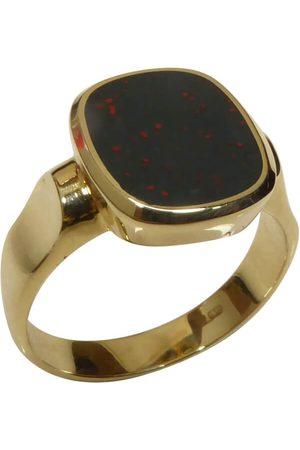 Christian Heren Ringen - Gouden heliotroop cachet ring