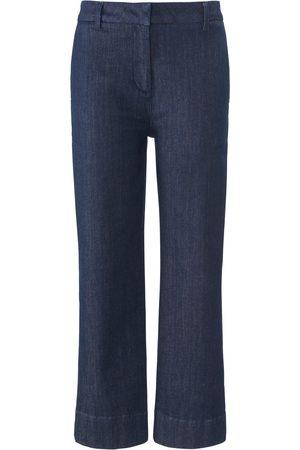 DAY.LIKE Enkellange Wide Leg-jeans rechte pijpen Van denim