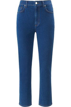 DAY.LIKE Dames Slim - Enkellange Slim Fit-jeans in 4-pocketsmodel Van denim